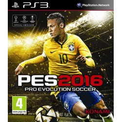 PES 16 Pro Evolution - Ps3